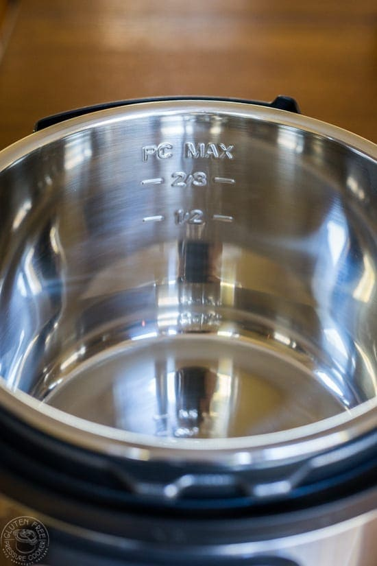 What is the Instant Pot Maximum Fill Line?