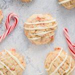 Easy gluten free peppermint cookies recipe #glutenfreecookie