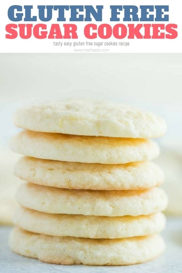 A PERFECT recipe for gluten free sugar cookies that beginner and experienced bakers will love! Also a great idea for Christmas Cookie exchanges #glutenfree #glutenfreecookies #glutenfreebaking #glutenfreesugarcookies #christmascookies