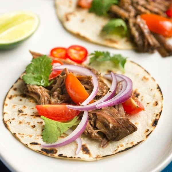 Pressure Cooker Barbacoa Beef Recipe