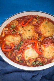Best Chicken Cacciatore Oven Baked Slow Cooker Or Crockpot