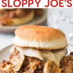 Instant pot philly cheesesteak sloppy joes