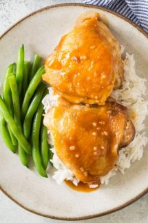 Instant POt Honey garlic Chicken recipe