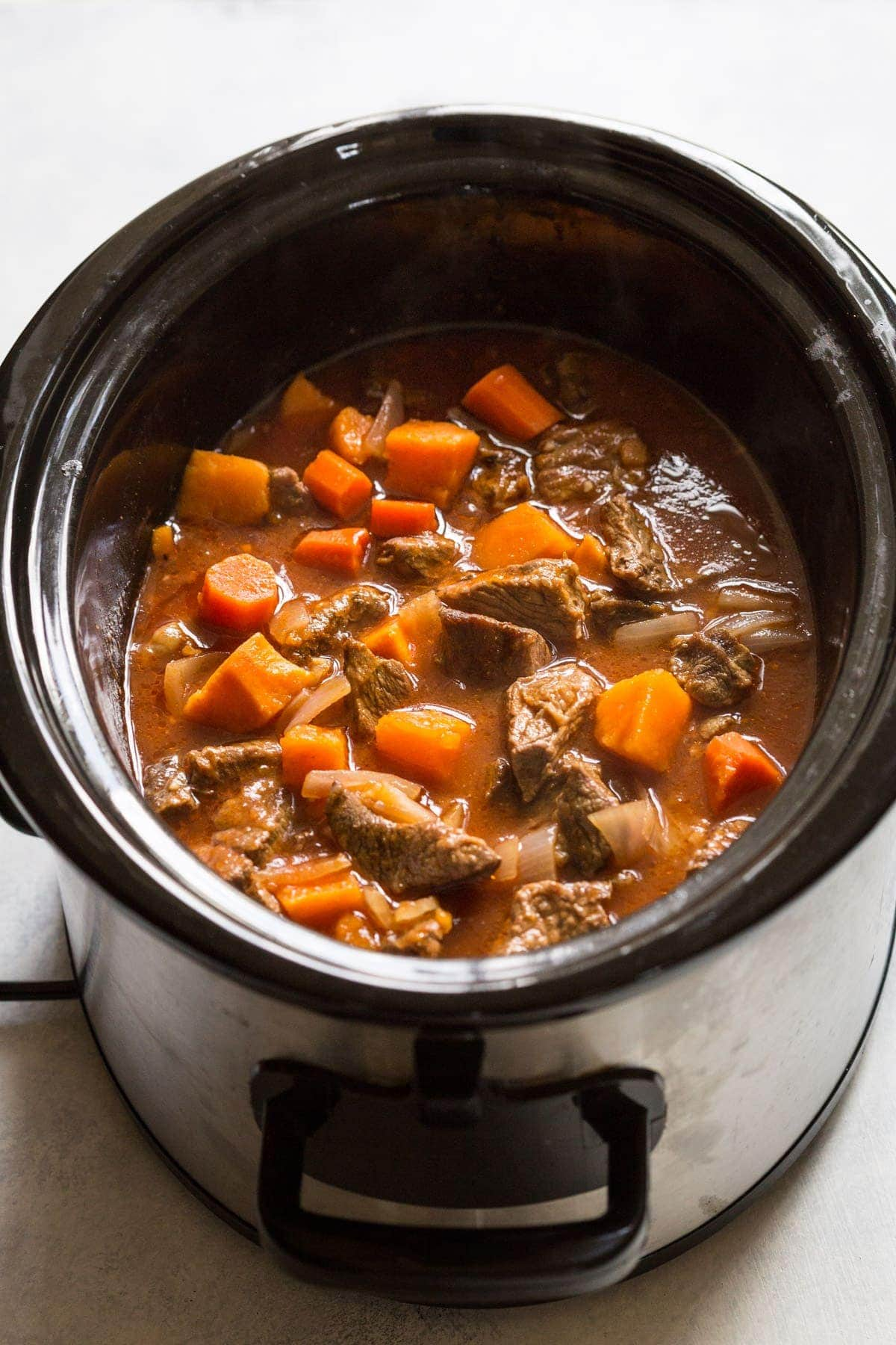 how to cook beef olives in a slow cooker