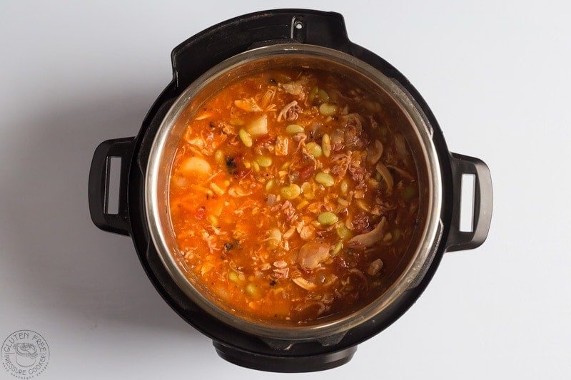 step by step tips for making instant pot brunswick stew