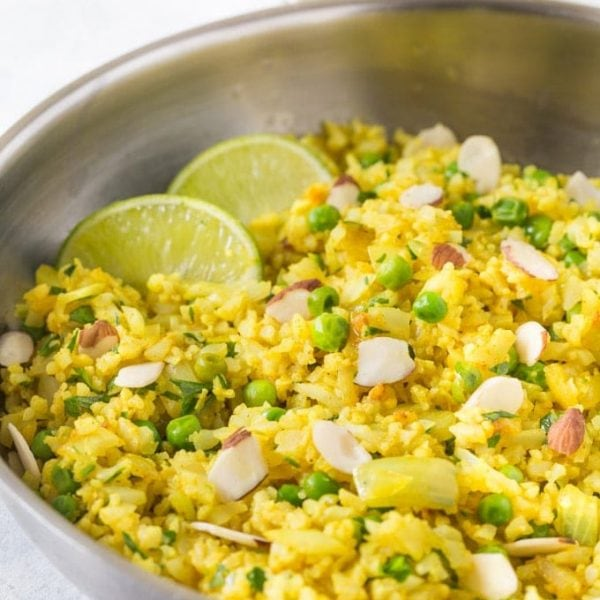 Cauliflower Rice Pilaf Recipe