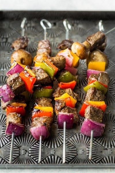 Low Carb Keto Beef Kabobs
