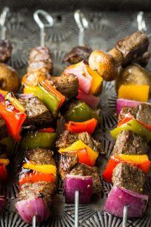 Keto Beef Kabobs Recipe