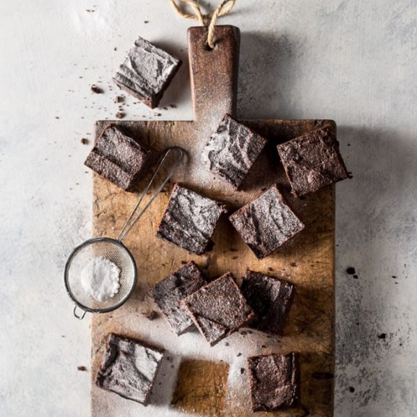 low carb Keto Brownies recipe photo