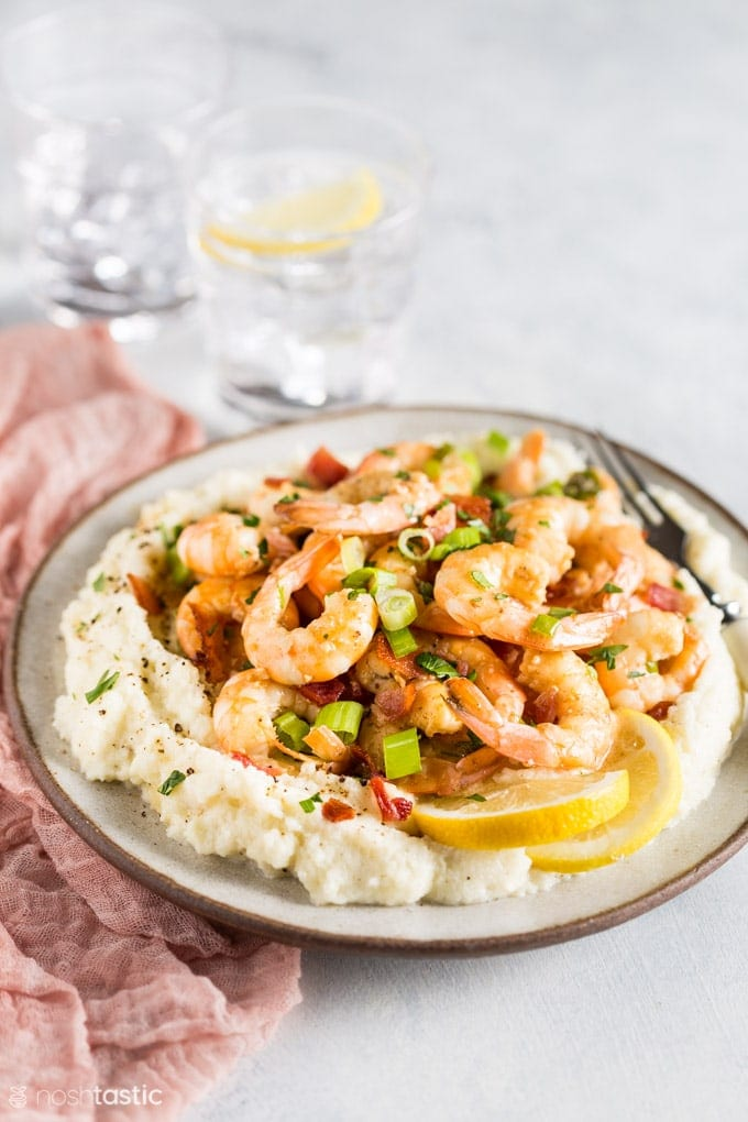 Keto Shrimp and Grits Recipe