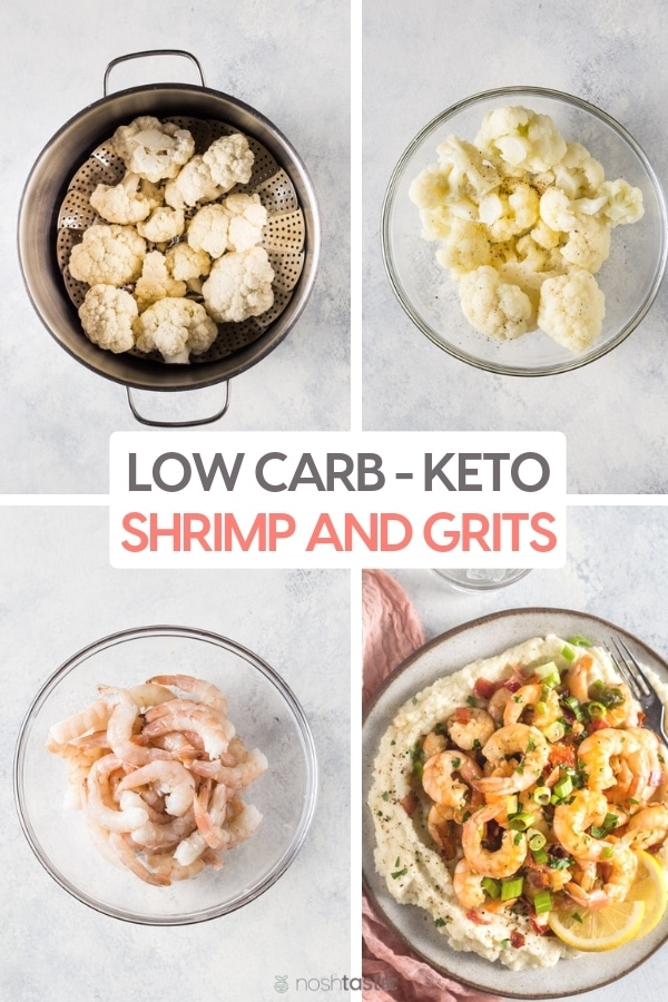 How to Make Low Carb Keto Shrimp and Grits Recipe