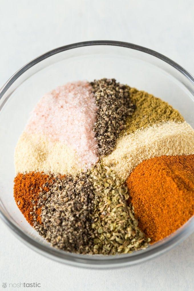 taco spice mixture photo