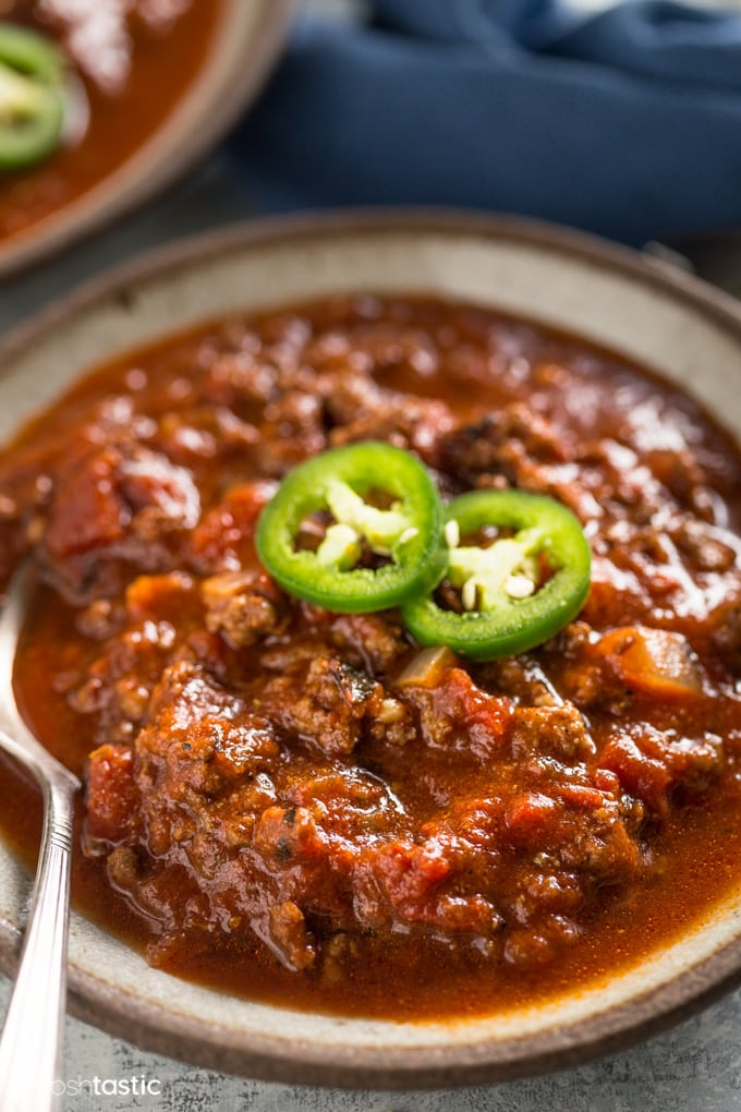 Keto Chili Recipe Photo