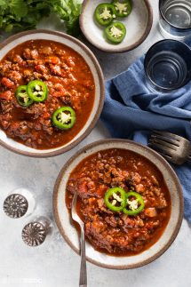 Keto Low Carb Chili Recipe Photo