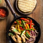 Keto Low Carb Chicken Fajitas recipe, and I've even got two recipes for keto low carb tortillas, either Almond Flour tortillas, or Coconut Flour tortillas, take your pick! | www.noshtastic.com | #noshtastic #glutenfree #lowcarb #keto #ketodiet #ketogenic #ketorecipes #ketogenicdiet #lowcarbrecipe #recipe #easy #chickendinner #fajitas #chickenfajitas #lowcarbfajitas #ketofajitas #tortillas #flatbread