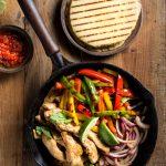 Keto Low Carb Chicken Fajitas recipe, and I've even got two recipes for keto low carb tortillas, either Almond Flour tortillas, or Coconut Flour tortillas, take your pick! | www.noshtastic.com | #noshtastic #glutenfree #lowcarb #keto #ketodiet #ketogenic #ketorecipes #ketogenicdiet #lowcarbrecipe #recipe #easy #chickendinner #fajitas #chickenfajitas #lowcarbfajitas #ketofajitas #tortillas #flatbread