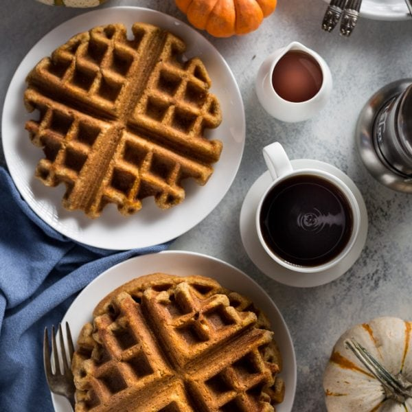 Low Carb Pumpkin Waffles Recipe