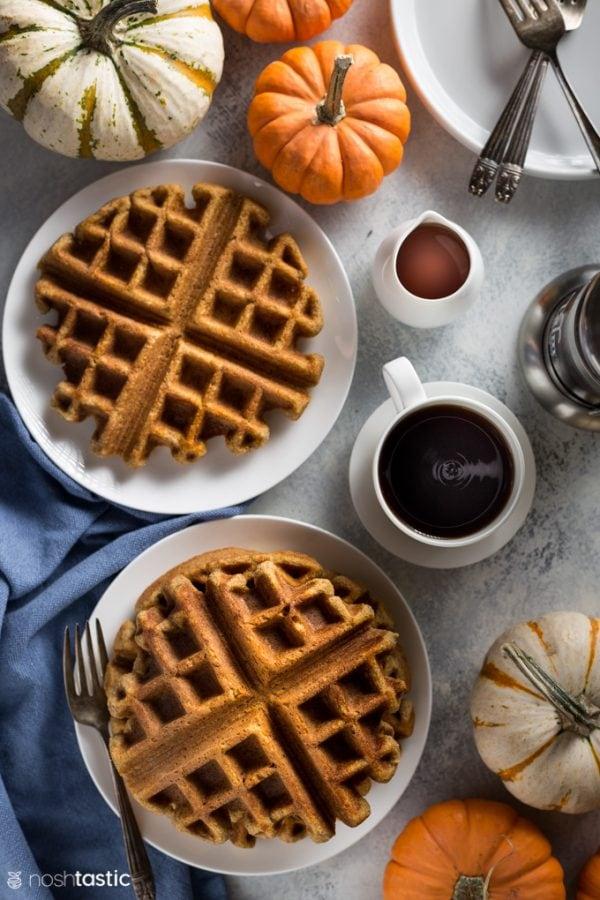 Low Carb Pumpkin Waffles Recipe
