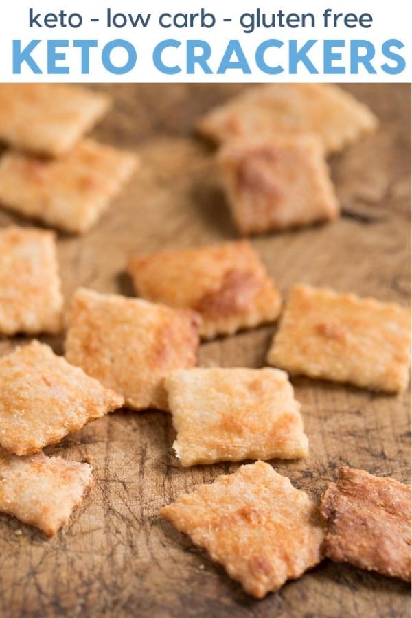 Keto crackers recipe idea