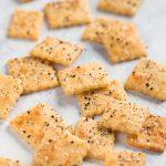 Keto Everything Bagel Crackers