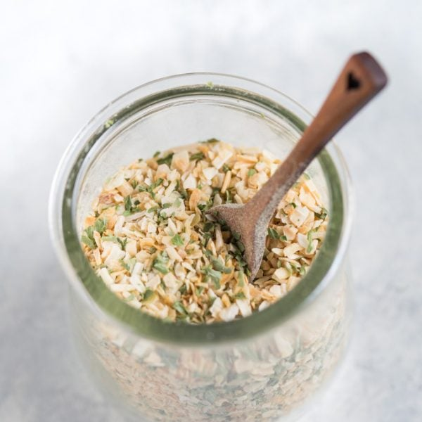 dried onion soup mix recipe in a jar