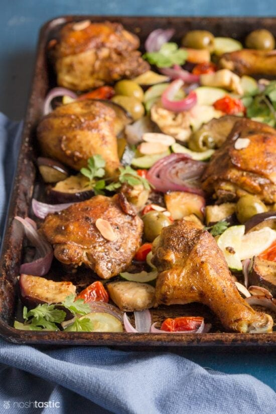 Moroccan Chicken Drumsticks