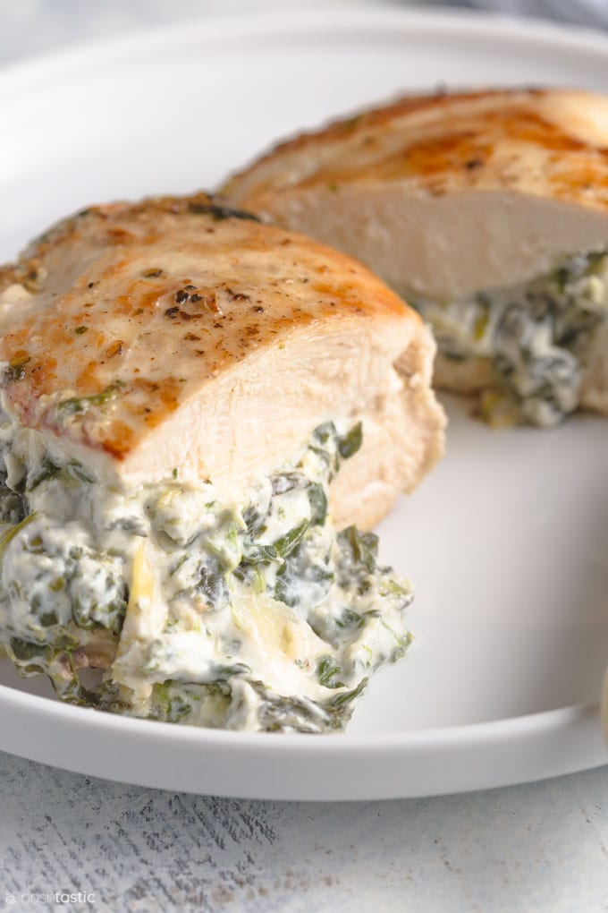 How to make low carb stuffed chicken