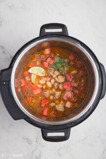Instant Pot White Chicken Chili Recipe