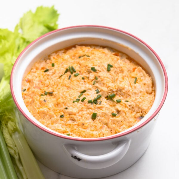 Easy Keto Buffalo Chicken Dip Recipe