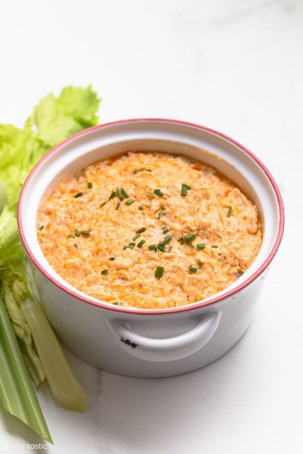 Easy Keto Buffalo Chicken Dip Recipe