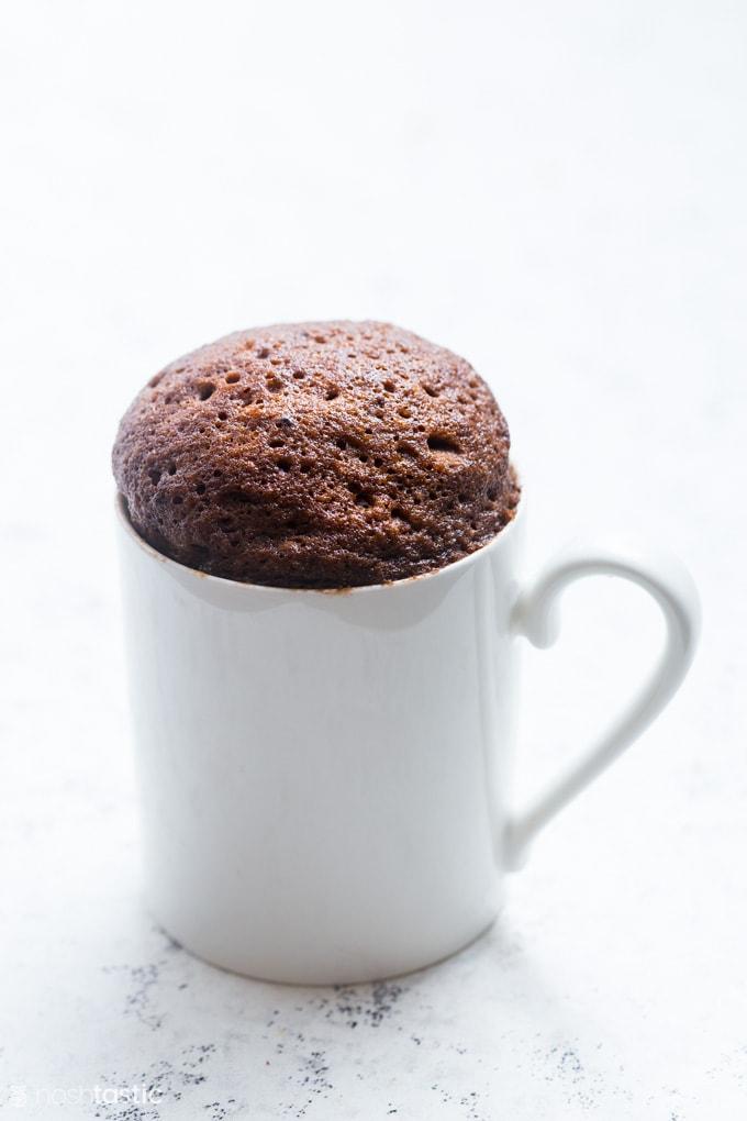 Keto Mug Cake Quick Easy Recipe Video