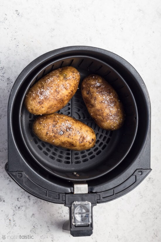 Baking potatoes in Air Fryer Basket