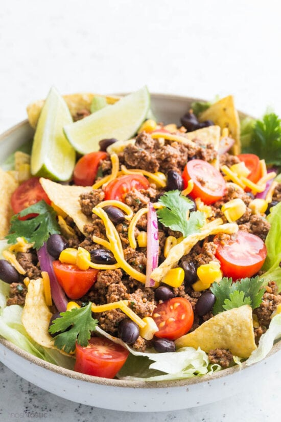 Big Bowl of taco salad