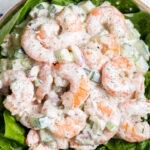 Shrimp Salad on Lettuce